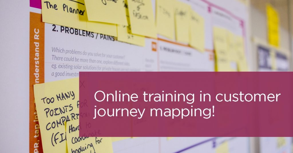 Online training Customer Journey Mapping