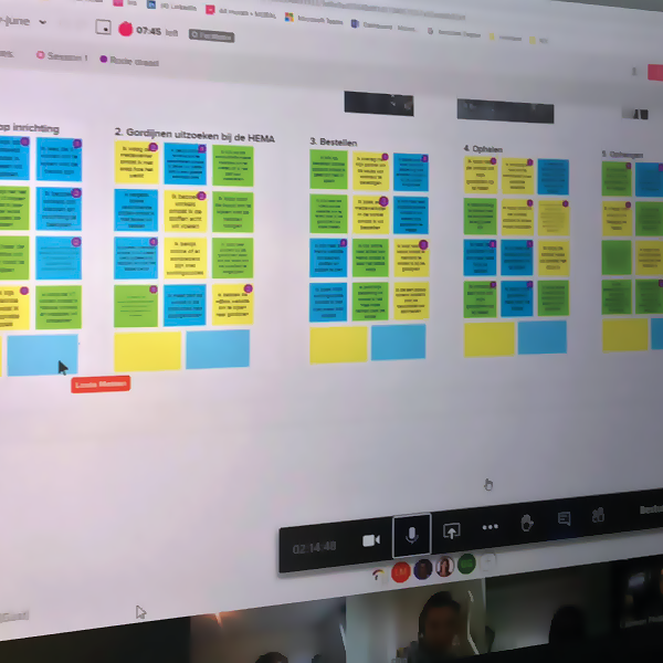 in-Novation training online - customer journey mapping