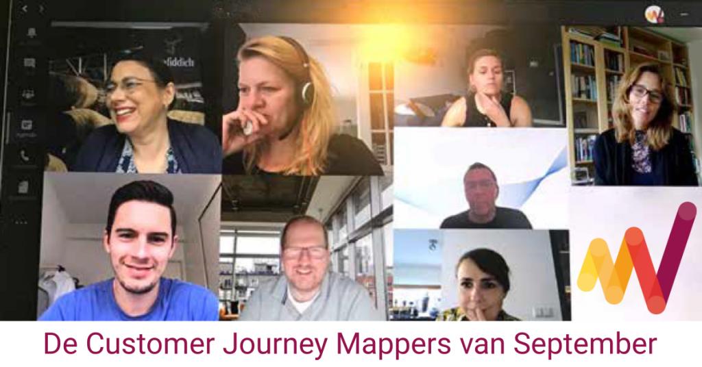 De Customer Journey Mappers van September