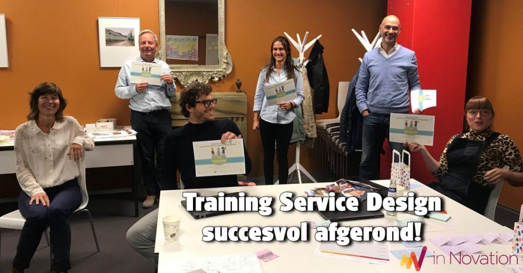 Succesvolle Service Design training